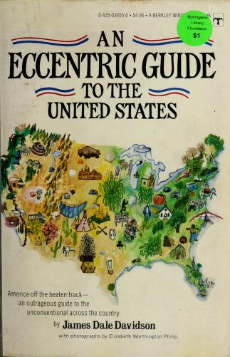 Cover of: Eccentric Gde To U S | James West Davidson